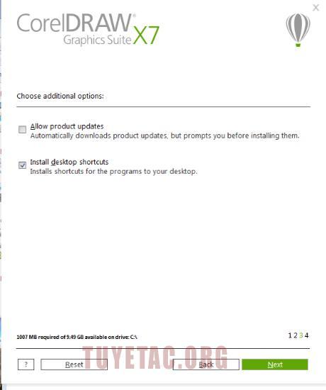 Download Corel Draw Graphics Suite x7 full crack và hướng dẫn cài đặt chi tiết A-Z