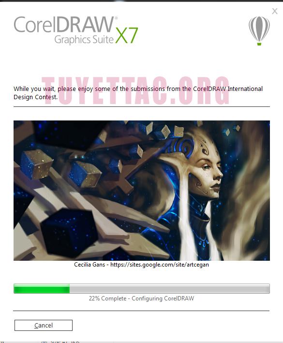 Download phần mềm Corel Draw Graphics Suite x7 full crack và hướng dẫn cài đặt từng bước