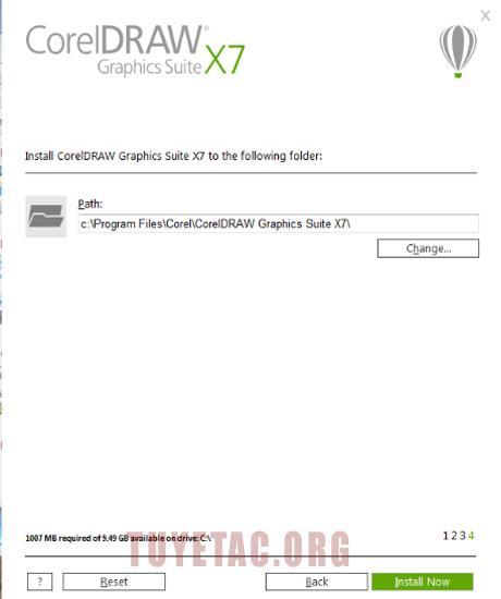 Download Corel Draw Graphics Suite x7 full crack và hướng dẫn cài đặt