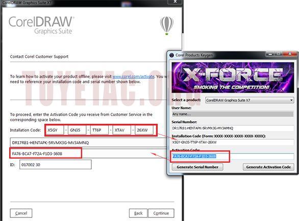 Download Corel draw x7 full crack và hướng dẫn cài