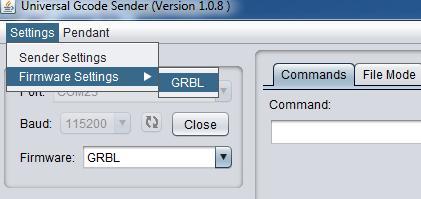 Uninversal Gcode Sender