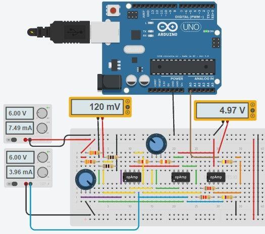 đo nhiệt độ từ pt100 sử dụng arduino
