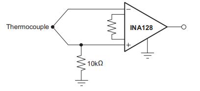 INA128 và Thermocouple