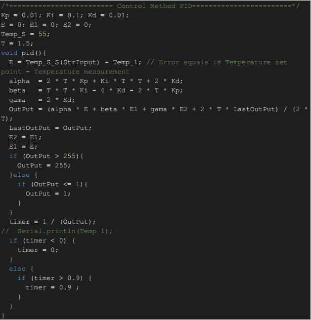Điều khiển Triac với Arduino bằng phương pháp PID