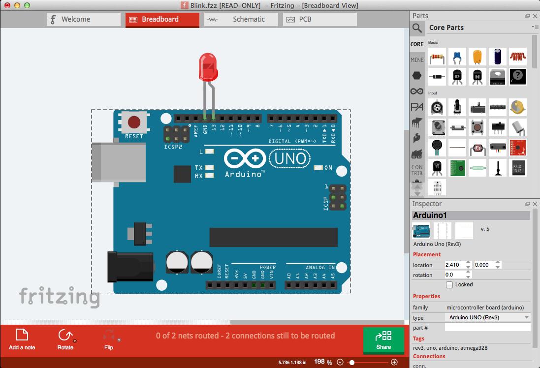 Download Phần mềm Fritzing vẽ sơ đồ mạch điện mới nhất 2019