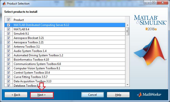 Install Matlab Software