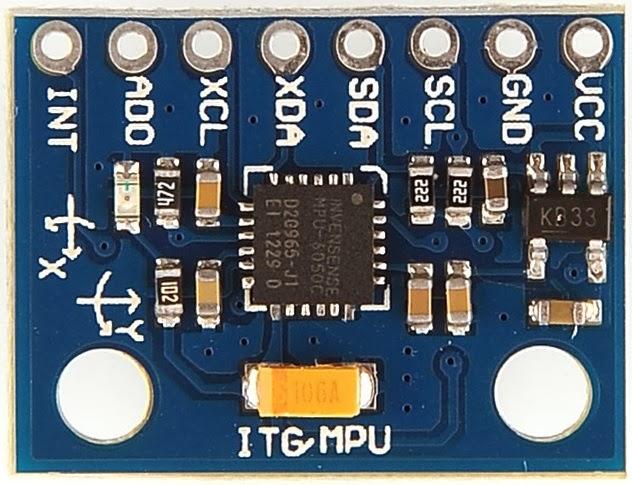 Cảm biến IMU MPU6050