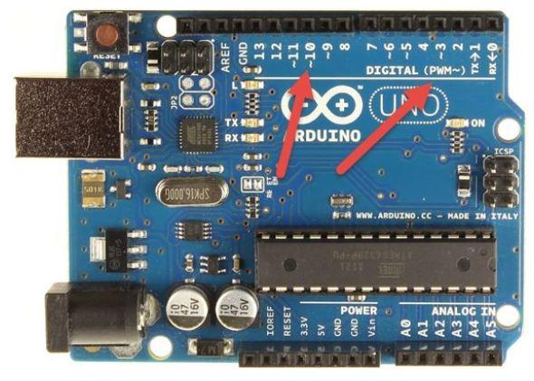 Sơ chân tín hiệu Arduino Uno - Digital & Analog
