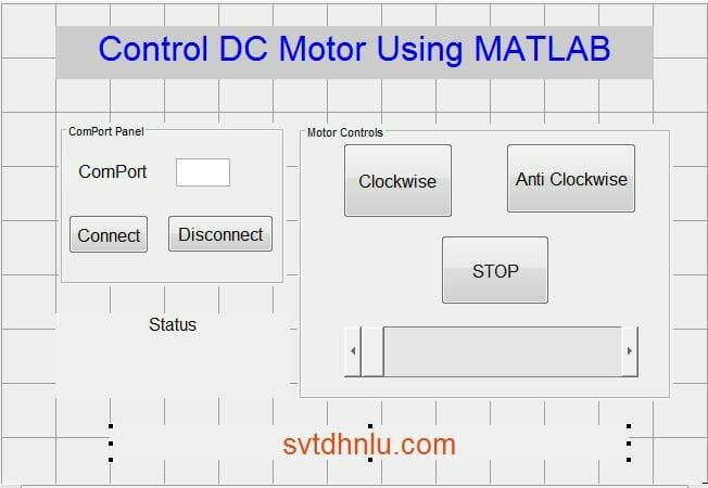 Điều khiển tốc độ động cơ DC sử dụng MATLAB