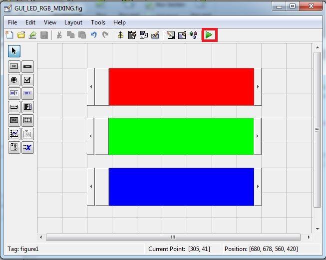 Điều khiển Arduino sử dụng GUI MATLAB: RGB LED Color Mixing