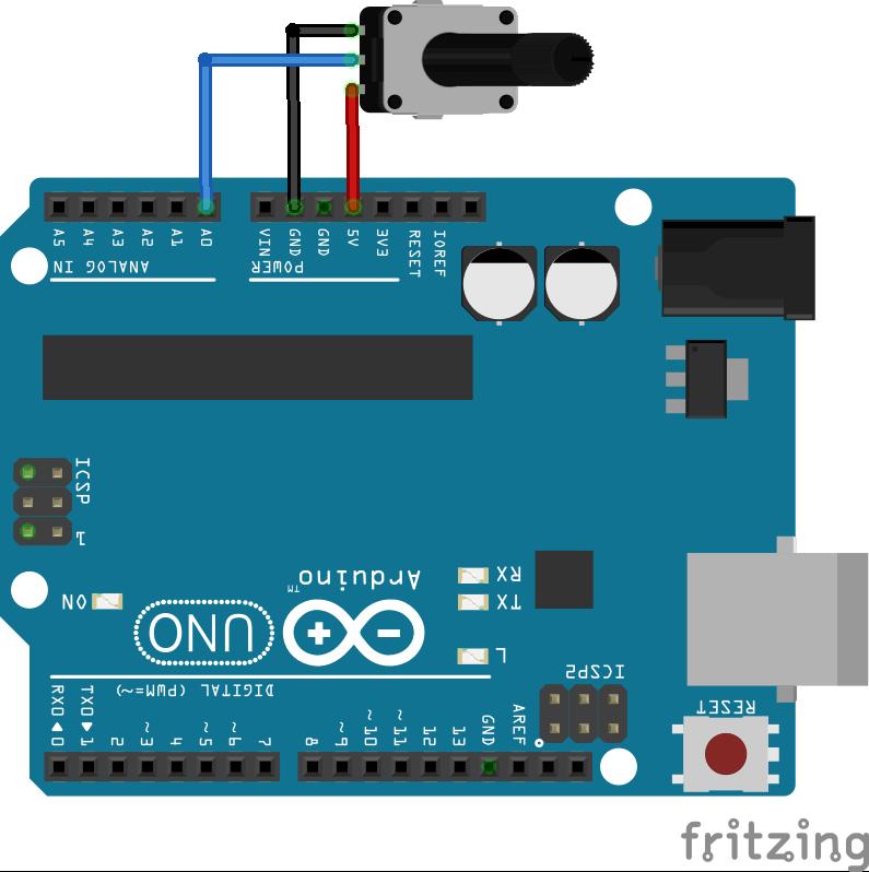 Lập trình Arduino sử dụng Matlab: Analog Input