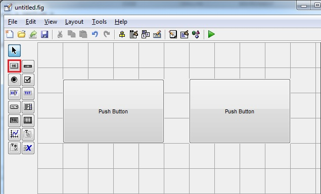Tạo giao diện Matlab điều khiển LED