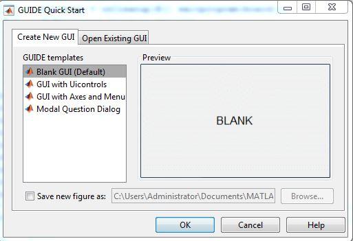 Tạo giao diện GUI Matlab 2018