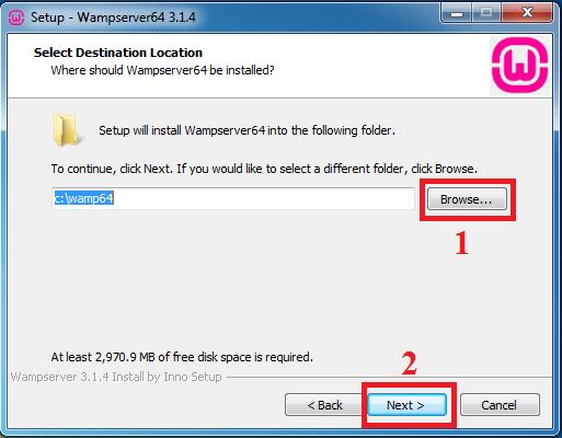 Download và cài đặt WampServer mới nhất