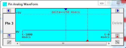 Phần mềm học Arduino: Giao diện cửa sổ Pin Analog WaveForms