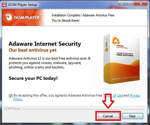 Hướng dẫn cài phần mềm Gom Player
