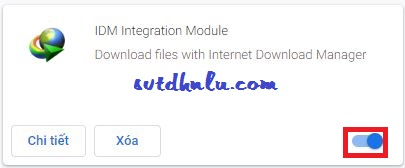 Bật IDM Integration Module