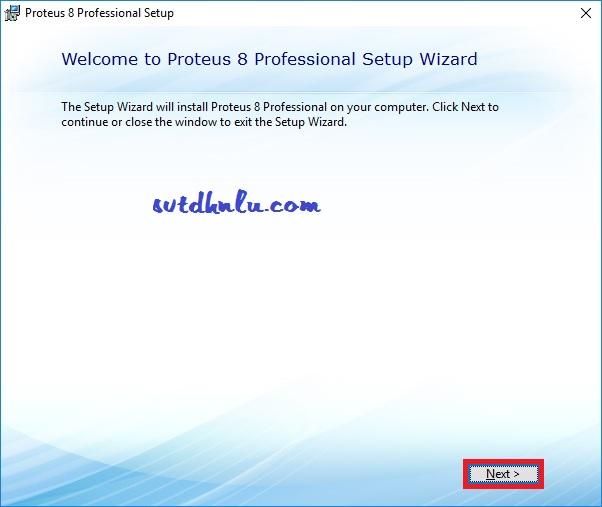 Cài đặt Proteus 8.8 Full Crack bước 1