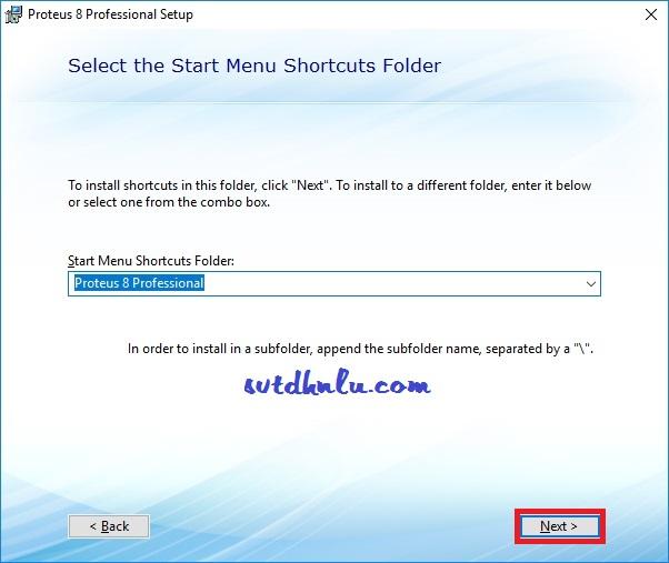 Cài đặt Proteus 8.8 chi tiết bước 12