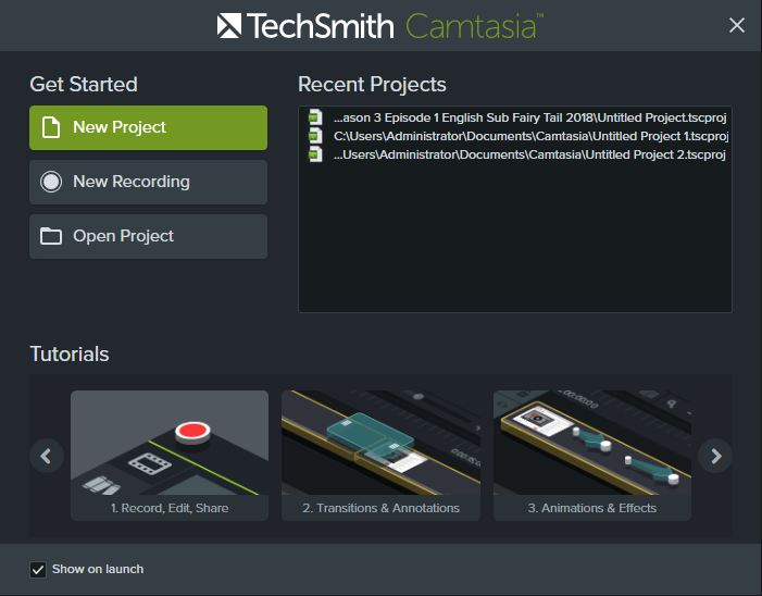 TechSmith Camtasia 2018