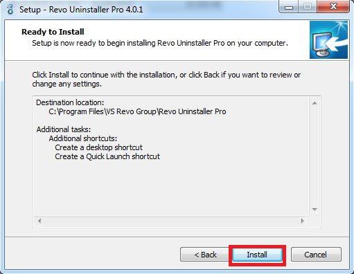 Hướng dẫn cài Uninstaller Pro full Crack bước 5