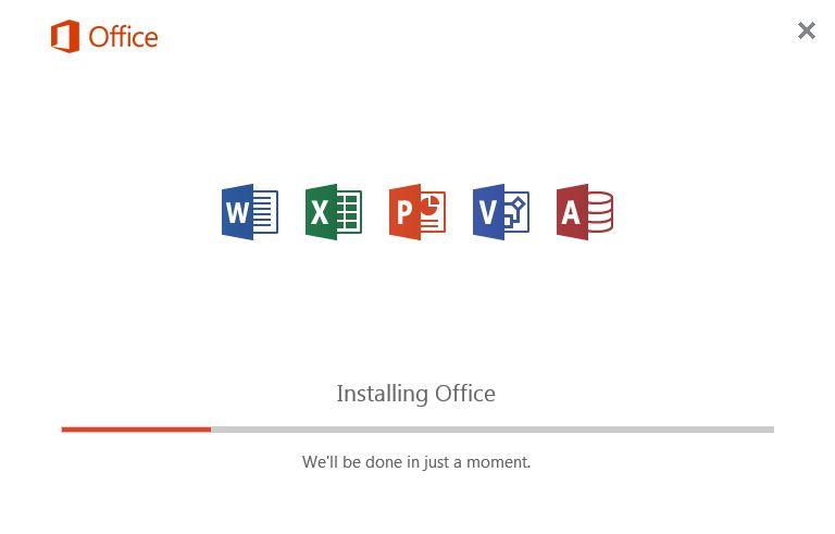 Hướng dẫn cài Microsoft Office 2016 với 1 click bước 2