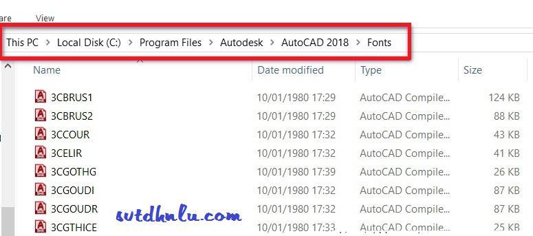 Fix sua loi font tieng viet AutoCAD - Tai Font AutoCAD full