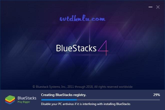 Qua trinh Cai BlueStacks phan mem gia lap Android tren PC