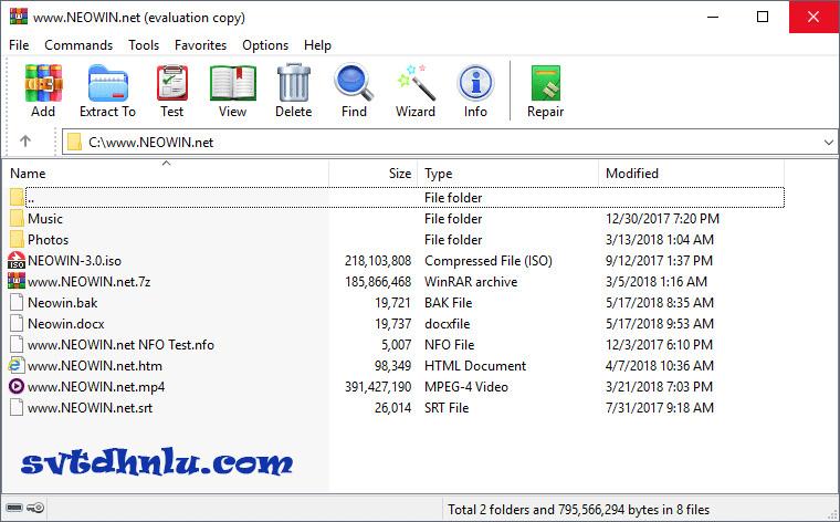 Download WinRAR Full Crack Phiên Bản Mới Nhất 2019