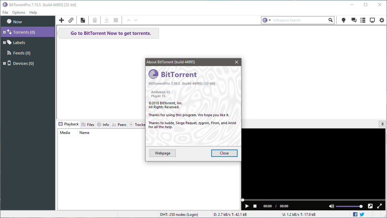 BitTorrent Pro 7.10.5 full crack