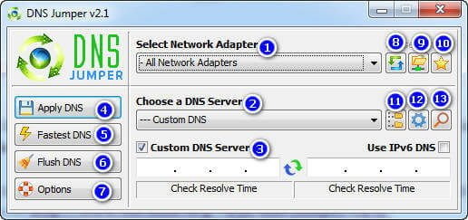 DNS Jumper 2.1