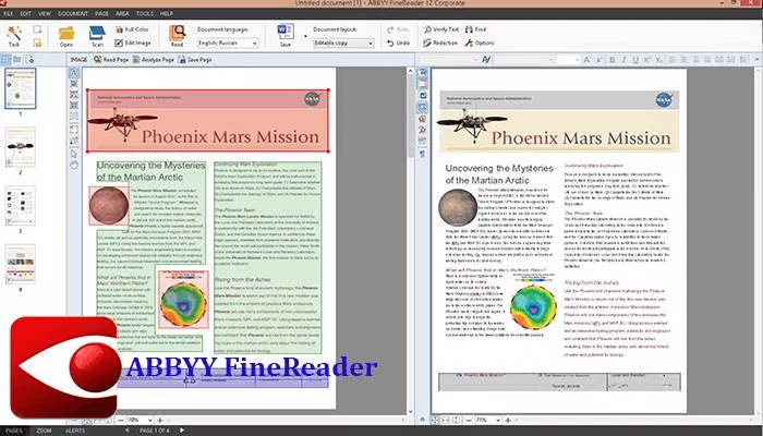 Download ABBYY FineReader Pro - chuyen doi file pdf sang word tot nhat