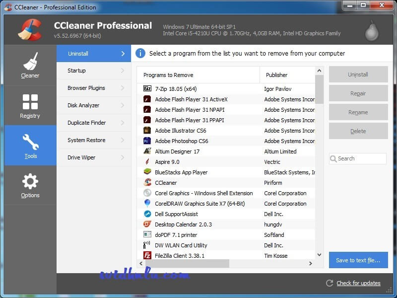 Download CCleaner Pro full key