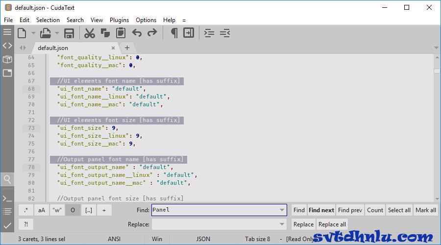 Download phần CudaText mới nhất miễn phí 2019 - Viết code, tạo kịch bản lập trình
