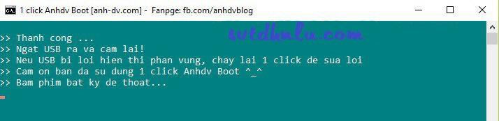 hoan thanh tao usb boot 1 click 8