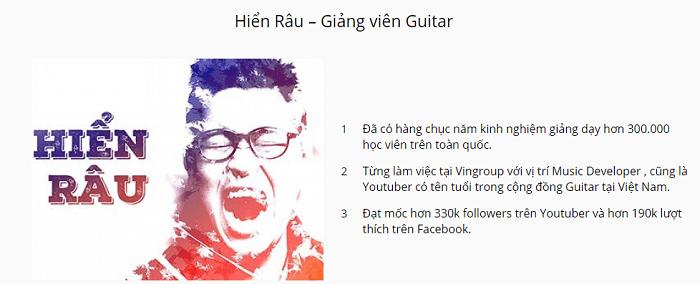 Tự học Guitar Hiển Râu