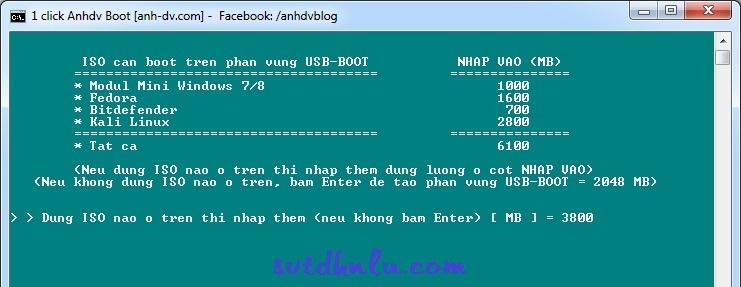tao usb boot 1 click 5