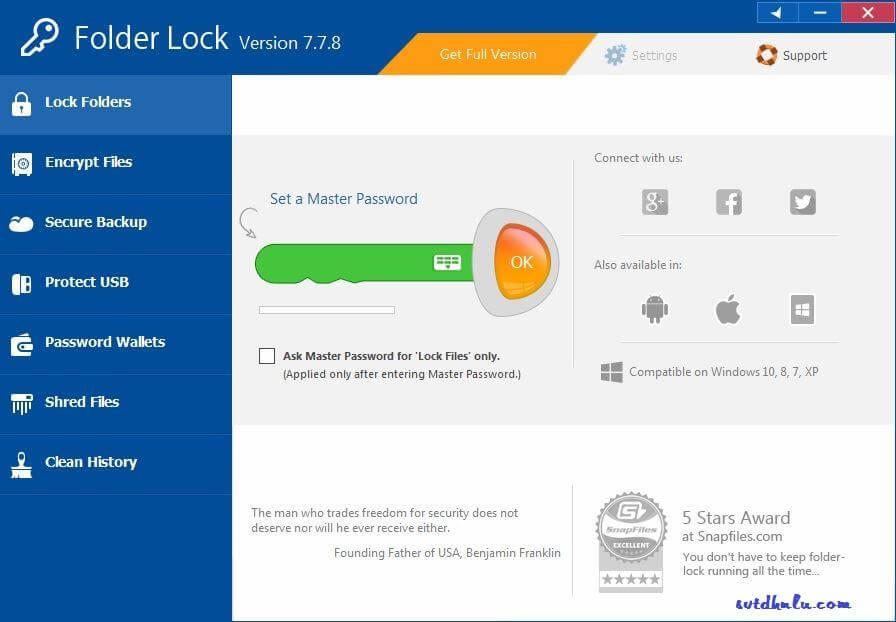 Download Folder Lock 7.7.8 full key