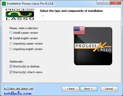 Huong dan cai Process Lasso Pro 9.1.0.6 3