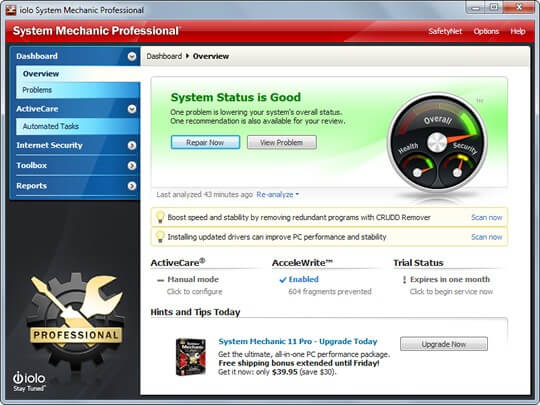 System Mechanic 18.5 Pro Full Key