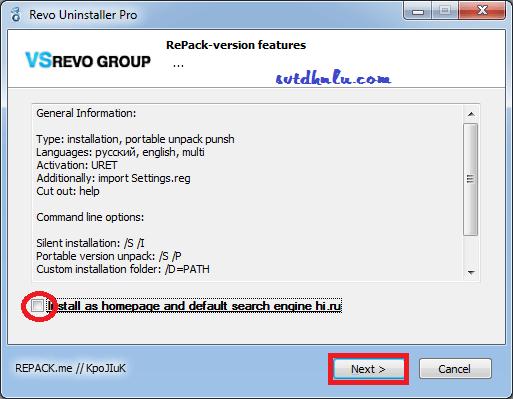 Phần mềm gỡ bỏ phần mềm, ứng dụng trên windows