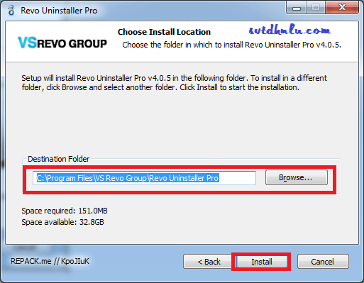 Download Revo Uninstall