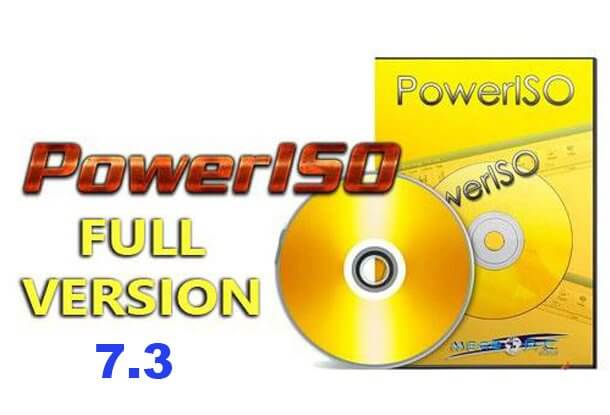 PowerISO Full Crack version 7.4 mới nhất