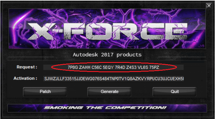 Tool X-Force Crack Autodesk 2017 Products