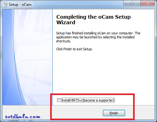 Download và hướng dẫn cài oCam full crack mới nhất