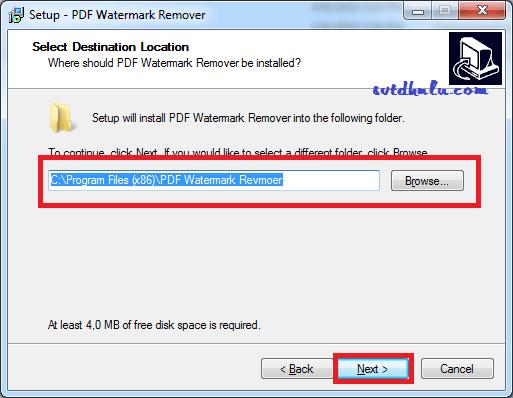 Cài phần mềm xóa chữ kí chìm trong file PDF