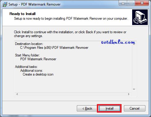 cai PDF Watermark Remover