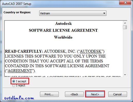 huong dan cai AutoCAD 2007 4