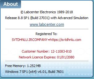 network license expires proteus 8.8