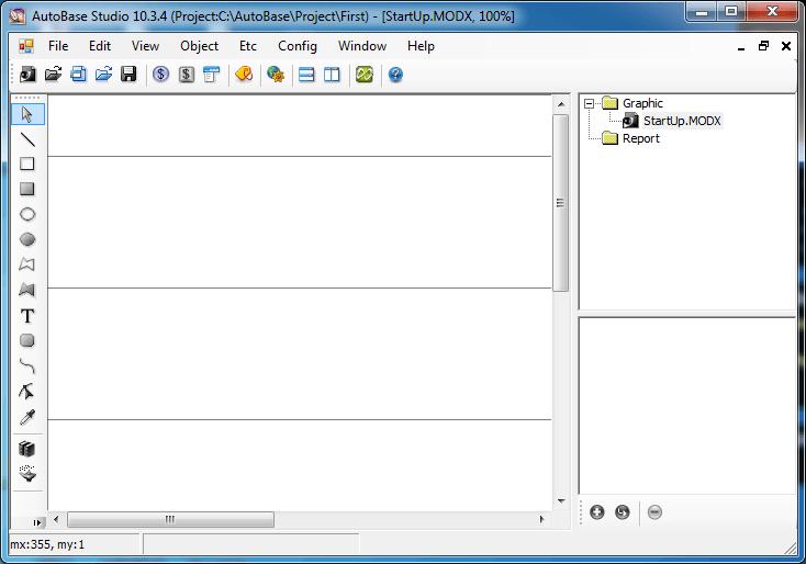 Giao diện phần mềm AutoBase SCADA